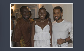 Boo Hinkson with John legend